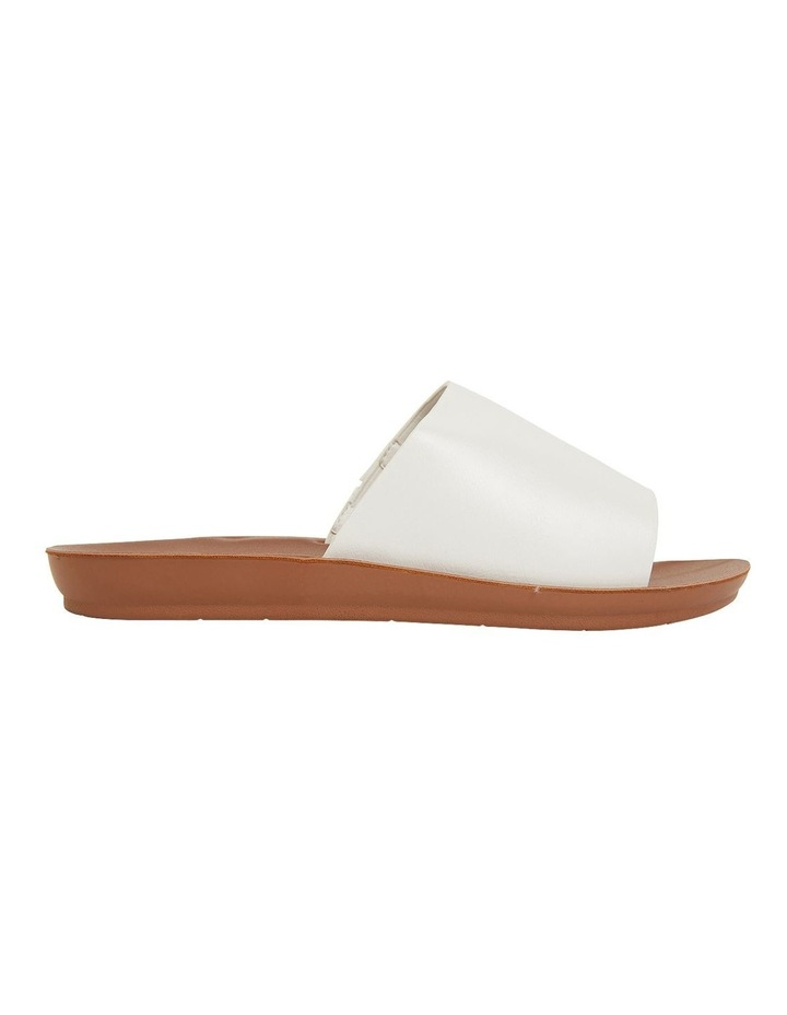 Glow White Smooth Sandals image 1