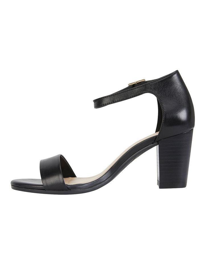 Beyond Black Glove Sandals image 2