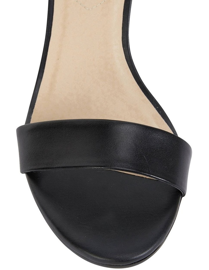 Beyond Black Glove Sandals image 4