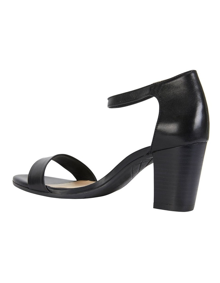 Beyond Black Glove Sandals image 5