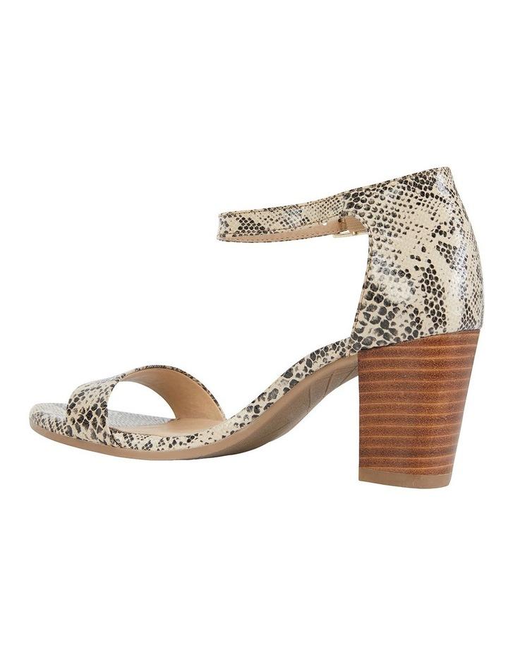 Beyond Snake Print Sandals image 4
