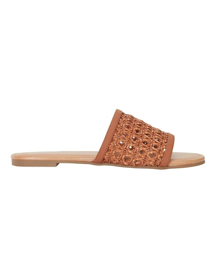 Ditto Tan Weave Sandals image 1