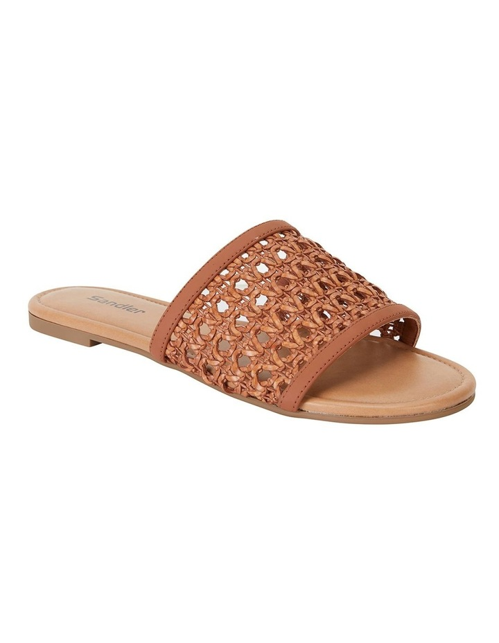 Ditto Tan Weave Sandals image 2
