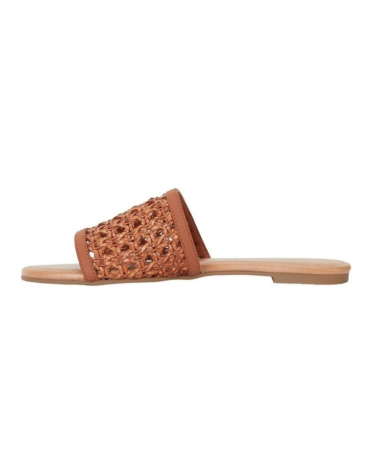 Ditto Tan Weave Sandals image 3