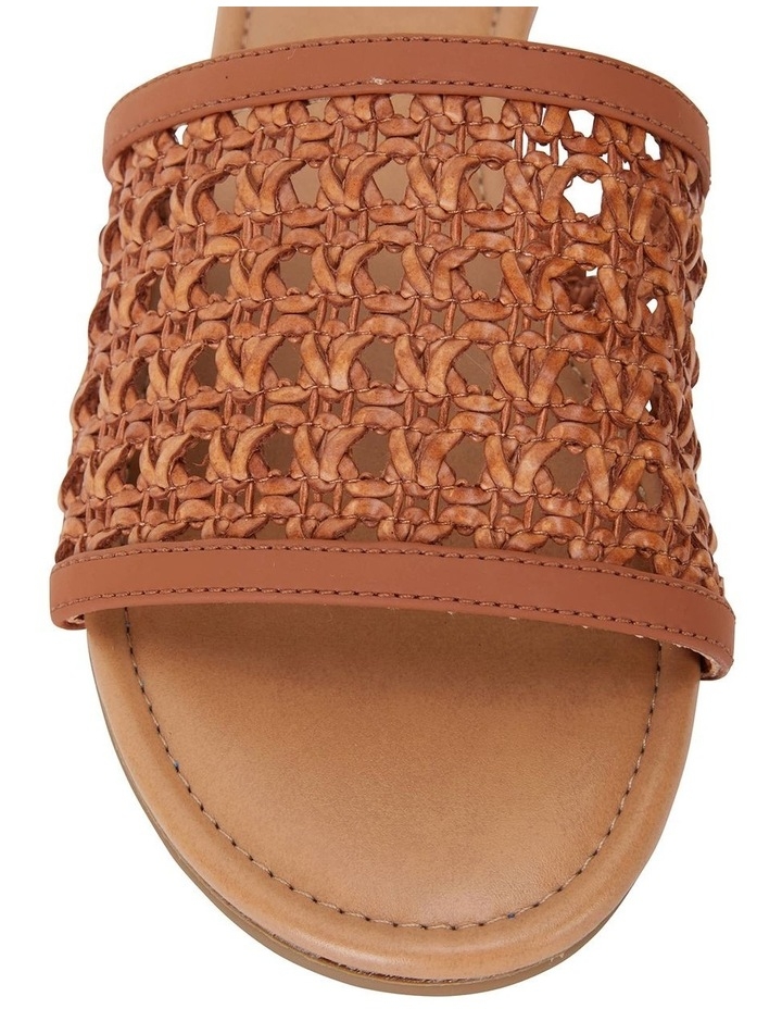 Ditto Tan Weave Sandals image 6