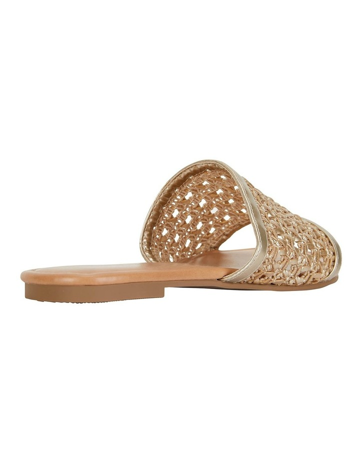 Ditto Soft Gold Weave Sandals image 4