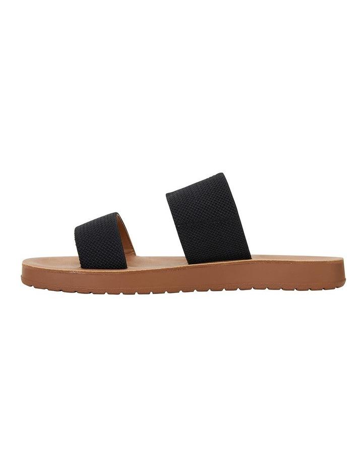 Havoc Black Elastic Sandals image 2