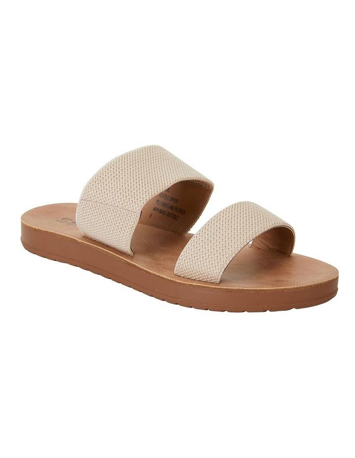 Havoc Nude Elastic Sandals image 2