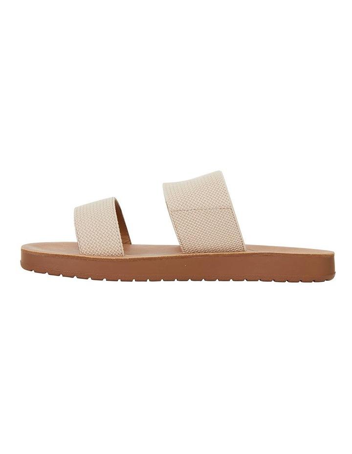 Havoc Nude Elastic Sandals image 3