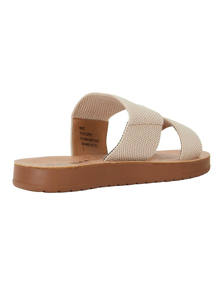 Havoc Nude Elastic Sandals image 4