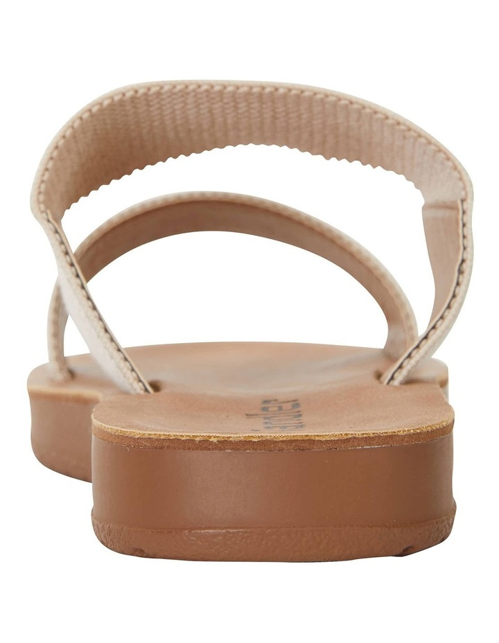 Havoc Nude Elastic Sandals image 5