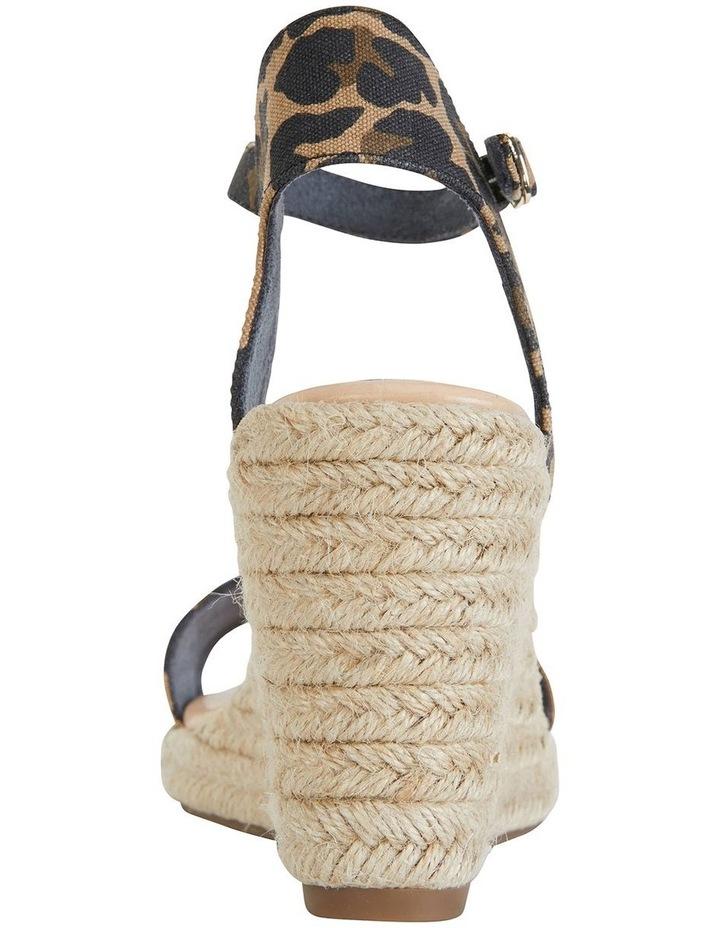 Audrey Animal Fabric Sandals image 1