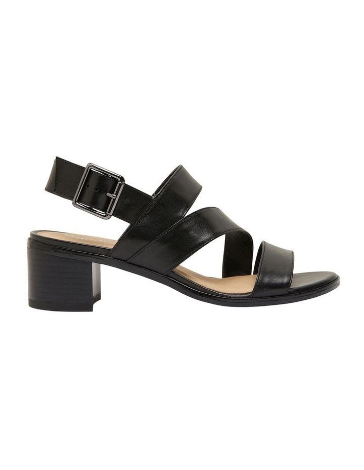 Pasadena Black Glove Sandals image 1