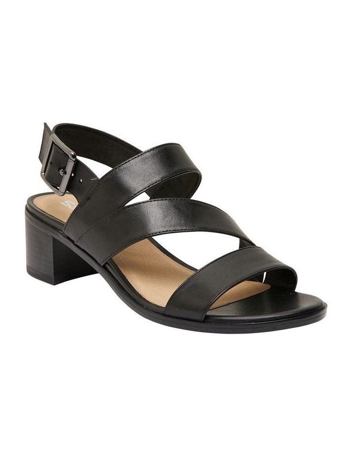 Pasadena Black Glove Sandals image 2