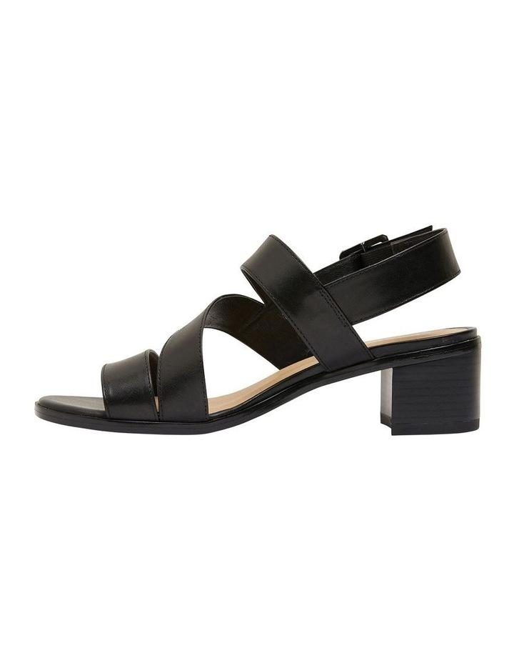 Pasadena Black Glove Sandals image 3