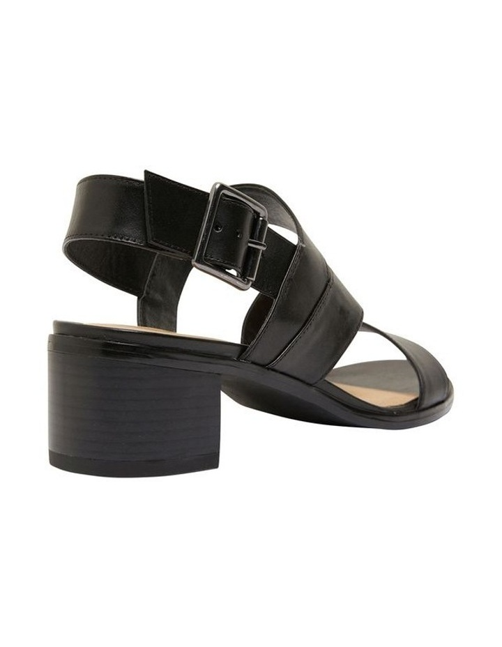 Pasadena Black Glove Sandals image 4