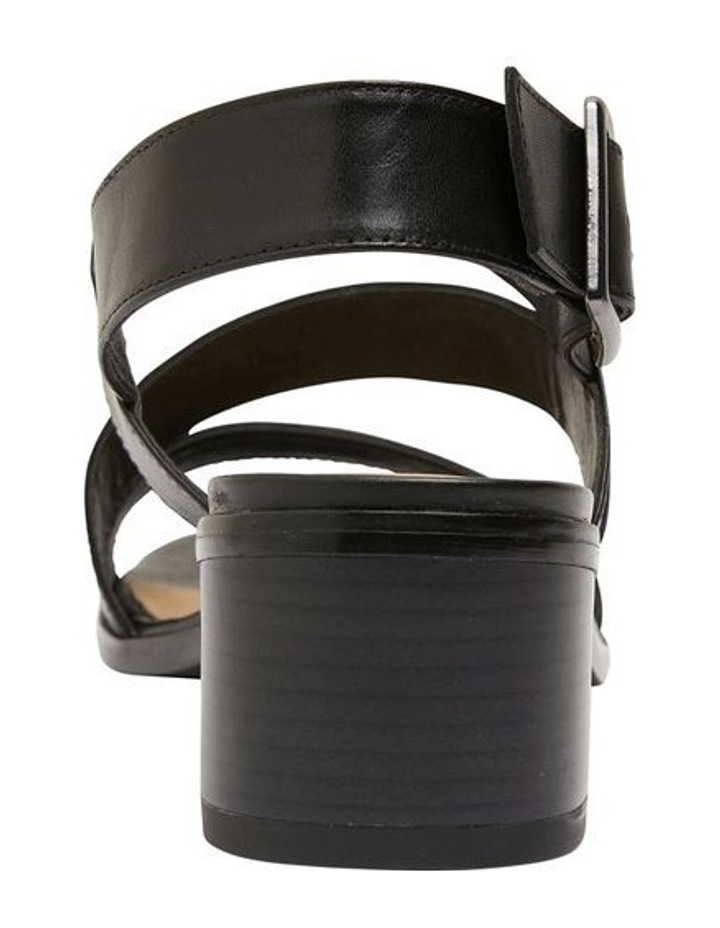 Pasadena Black Glove Sandals image 5