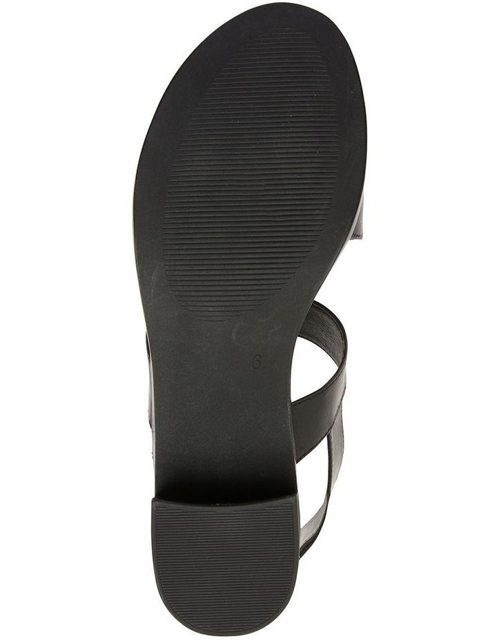 Pasadena Black Glove Sandals image 6