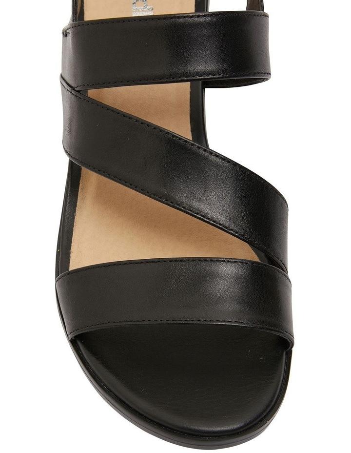Pasadena Black Glove Sandals image 7