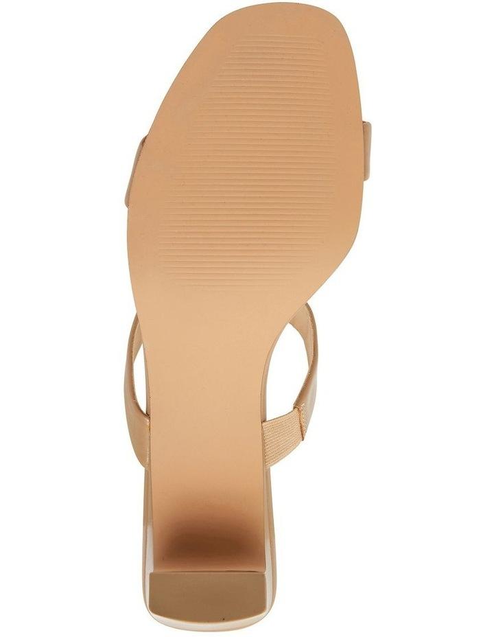 Hepburn Camel Glove Sandals image 6