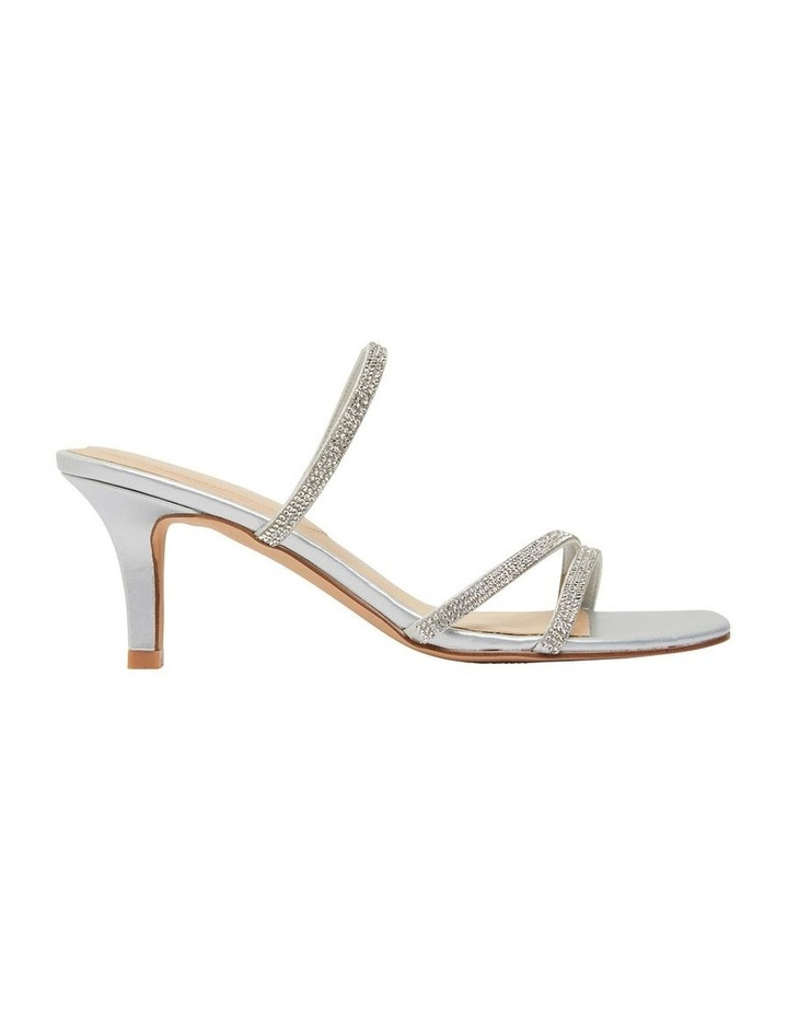Marcy Silver Metallic Sandals image 1