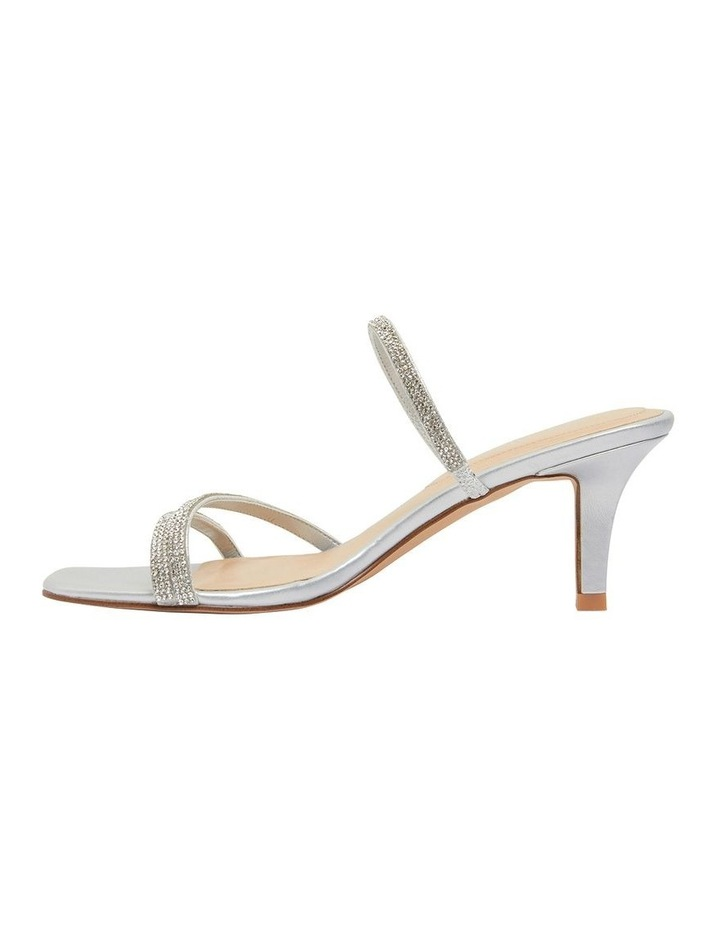 Marcy Silver Metallic Sandals image 2