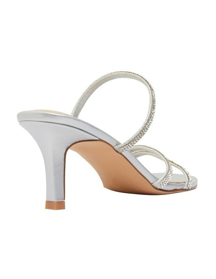 Marcy Silver Metallic Sandals image 3