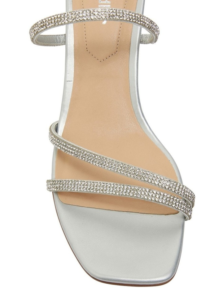 Marcy Silver Metallic Sandals image 6