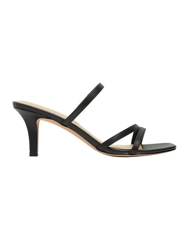Marilyn Black Smooth Sandals image 1