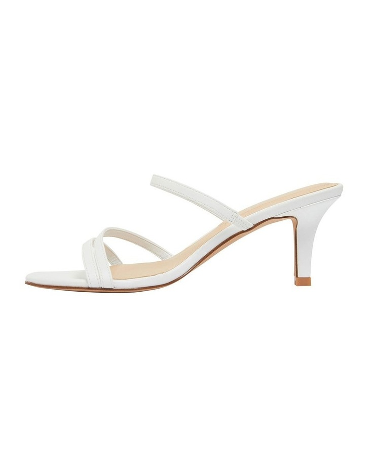 Marilyn White Smooth Sandals image 2