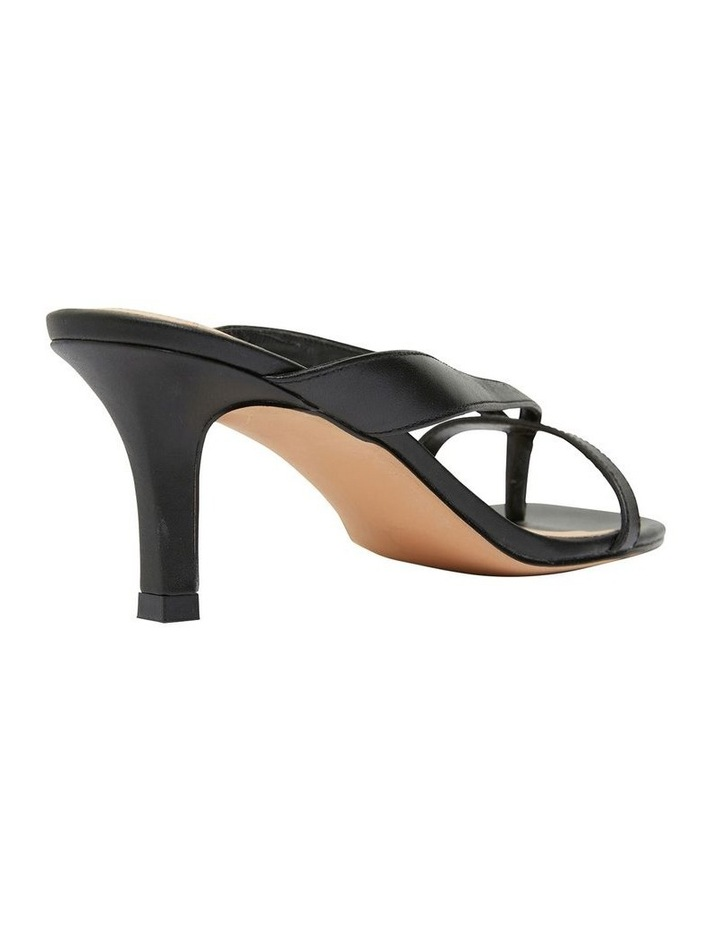 Madrid Black Glove Sandals image 4