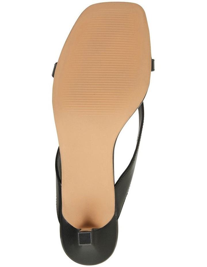 Madrid Black Glove Sandals image 6