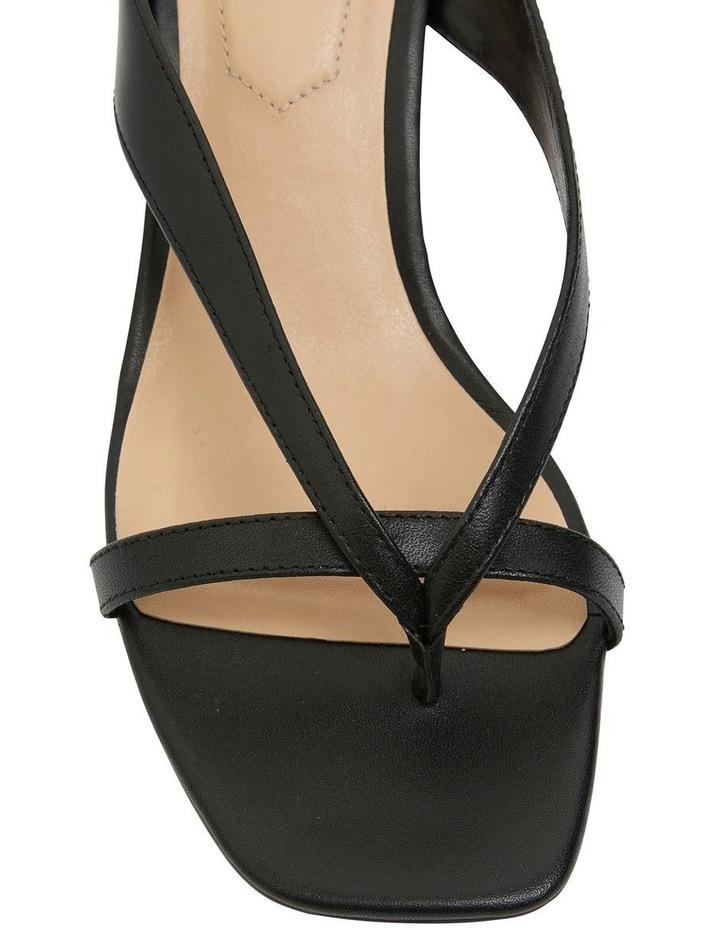 Madrid Black Glove Sandals image 7