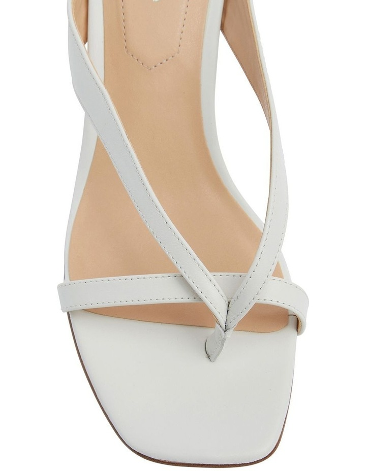 Madrid White Glove Sandals image 7
