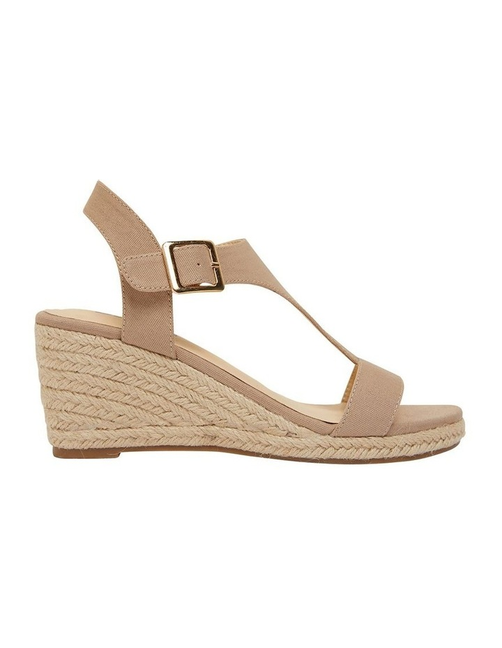 Anchor Taupe Fabric Sandals image 1