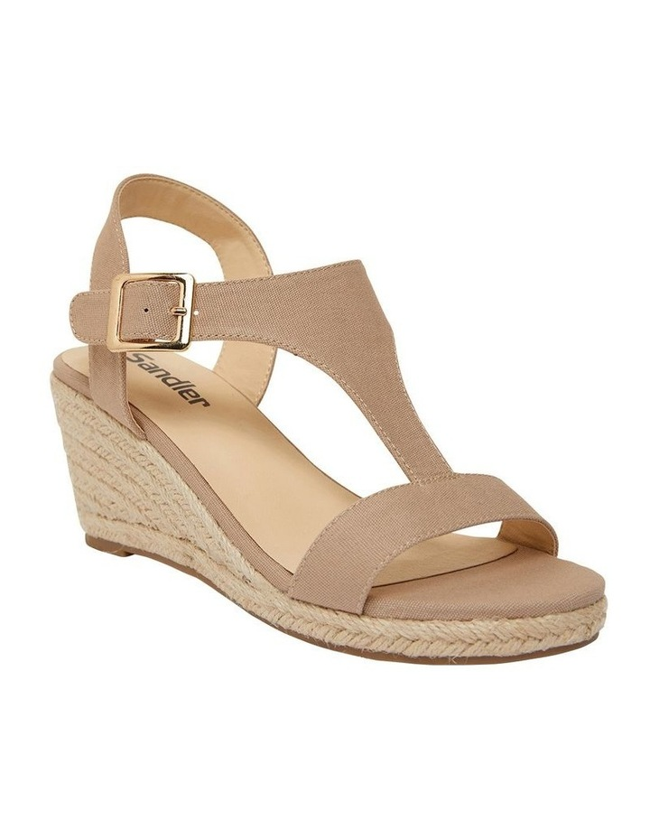 Anchor Taupe Fabric Sandals image 2