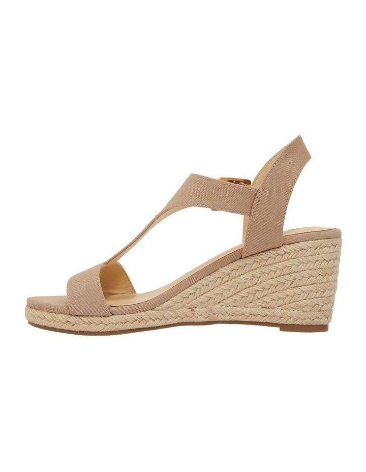 Anchor Taupe Fabric Sandals image 3
