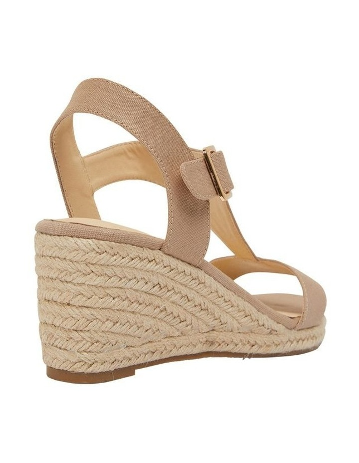 Anchor Taupe Fabric Sandals image 4