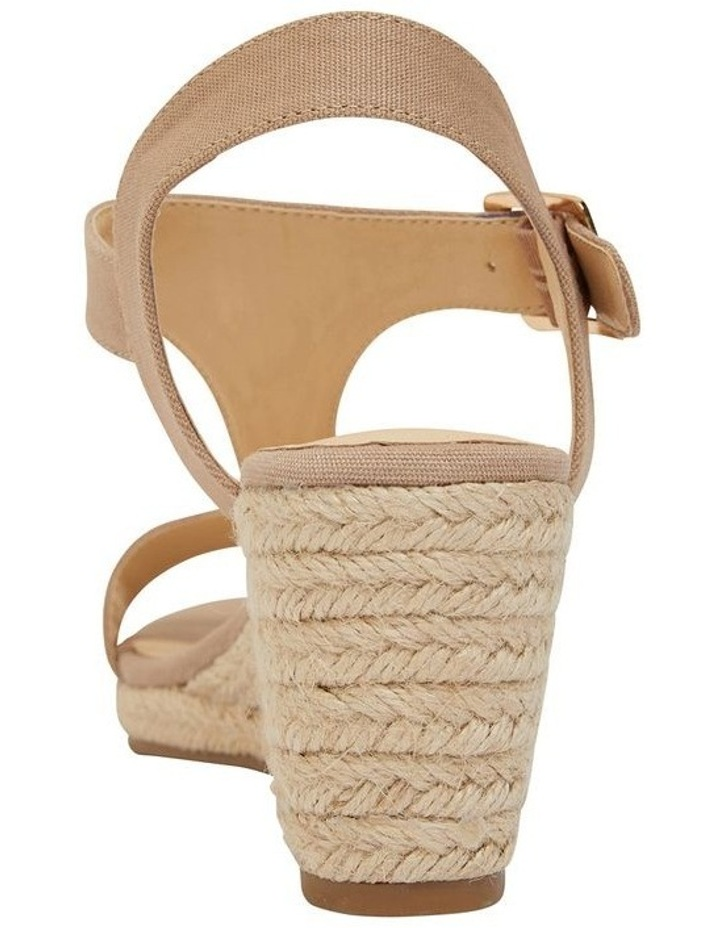 Anchor Taupe Fabric Sandals image 5