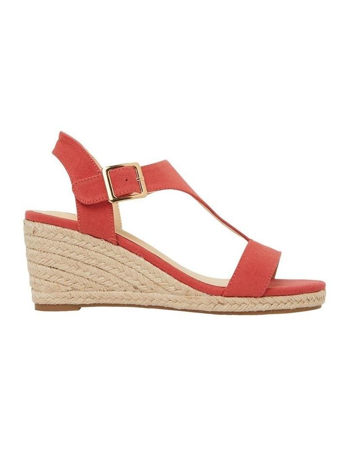 Anchor Tangerine Fabric Sandals image 1