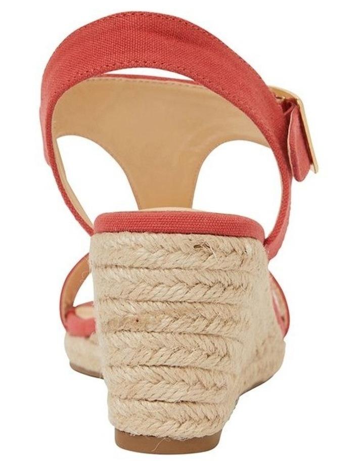 Anchor Tangerine Fabric Sandals image 5