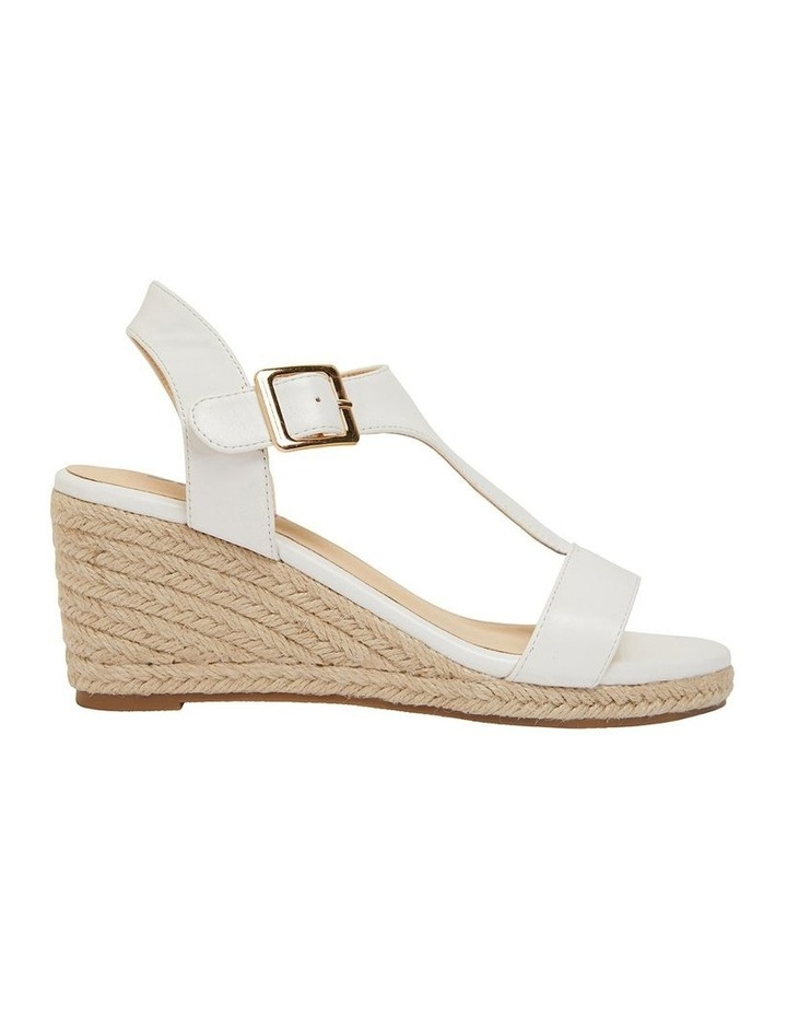 Anchor White Smooth Sandals image 1
