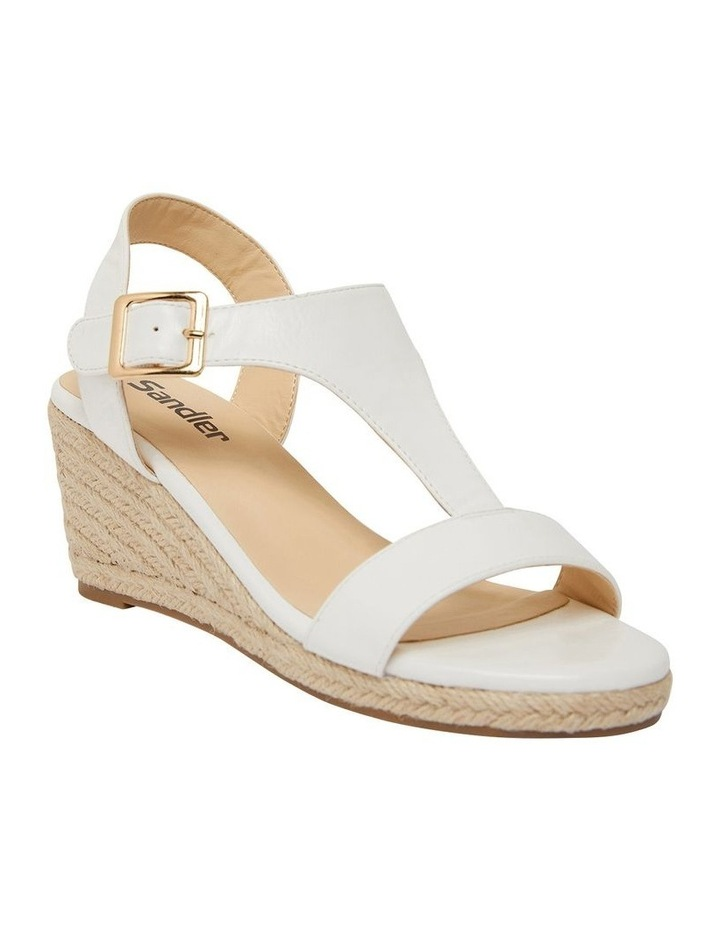 Anchor White Smooth Sandals image 2