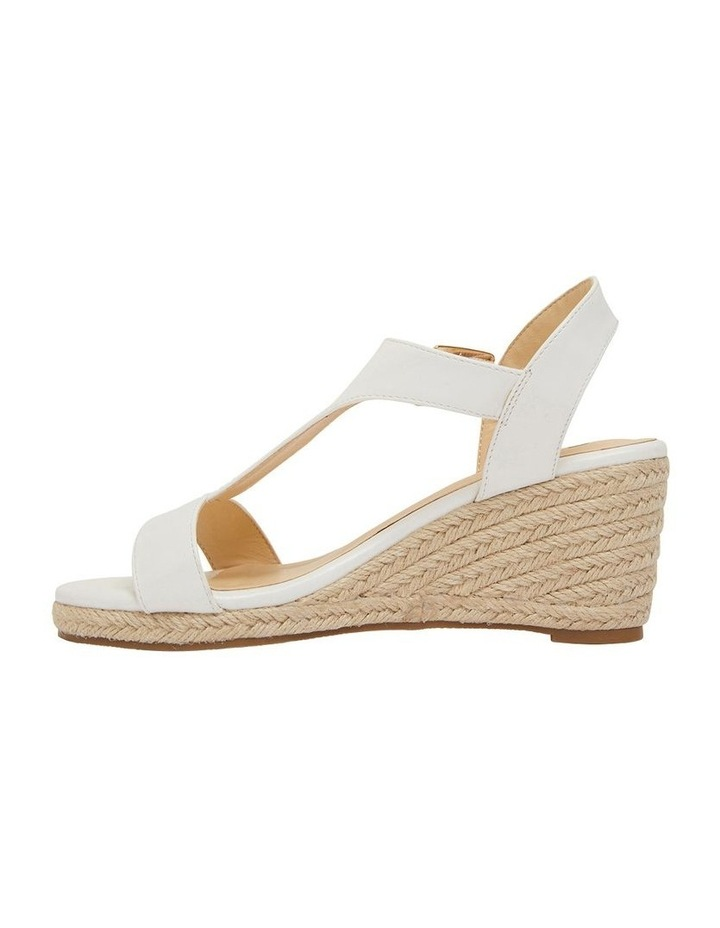 Anchor White Smooth Sandals image 3