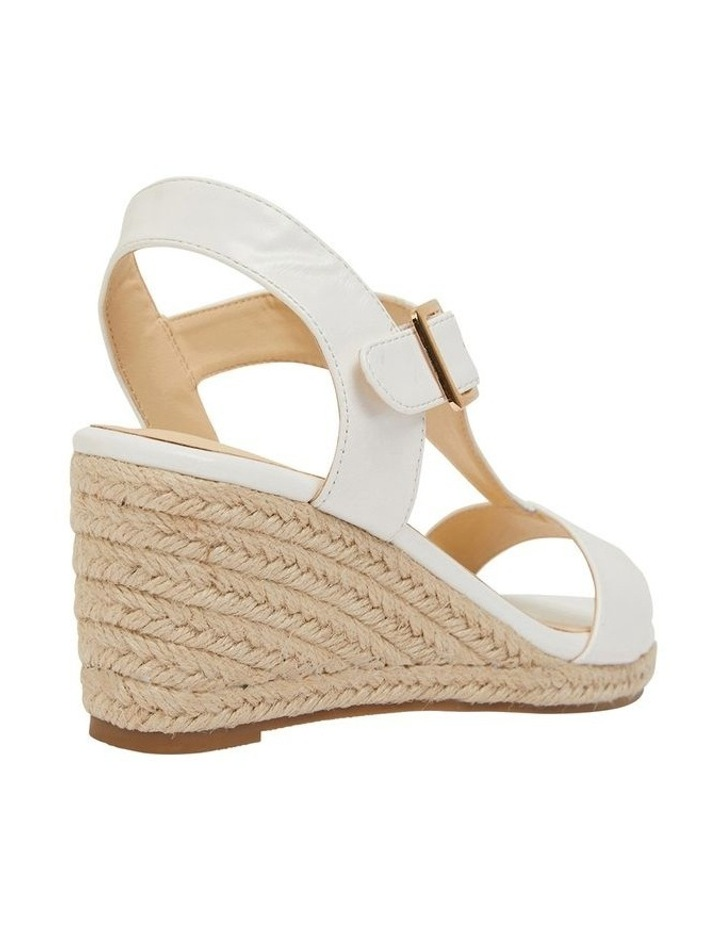 Anchor White Smooth Sandals image 4