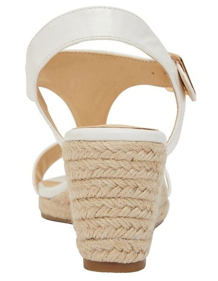 Anchor White Smooth Sandals image 5