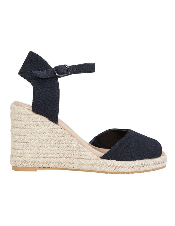 Aloha Black Linen Sandals image 1
