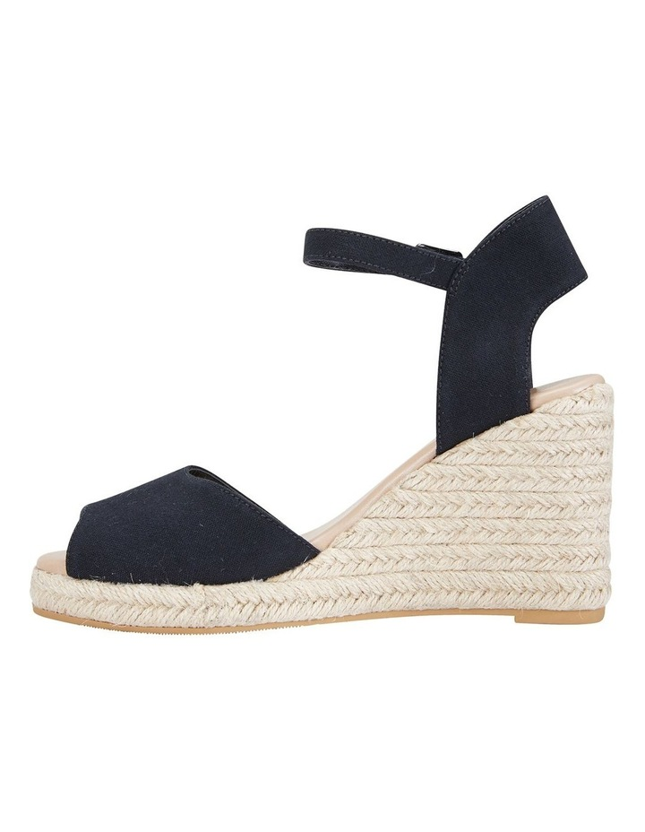 Aloha Black Linen Sandals image 3
