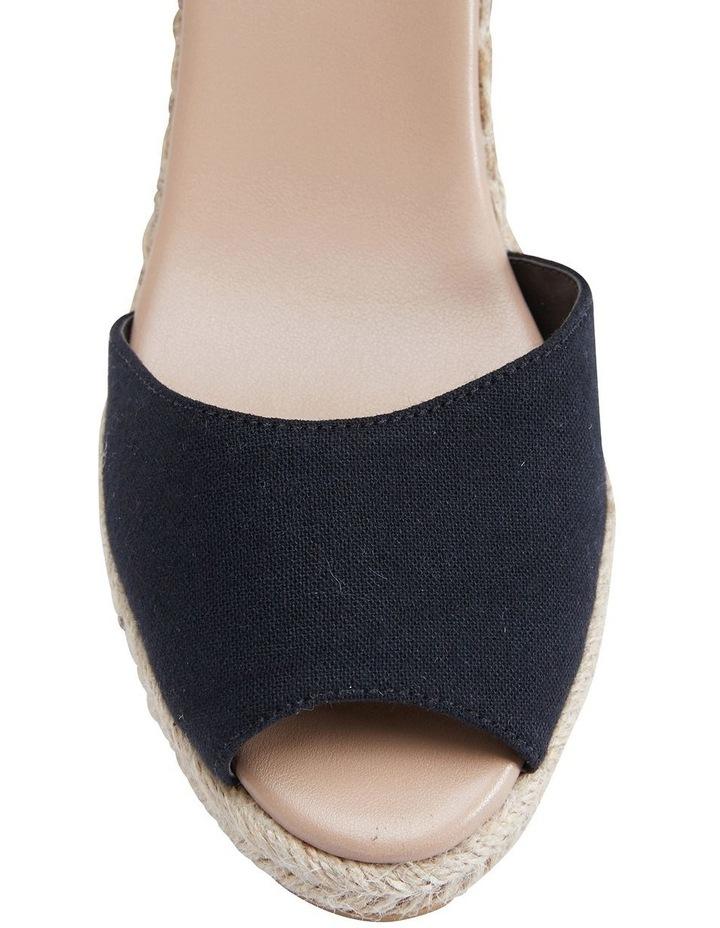 Aloha Black Linen Sandals image 5