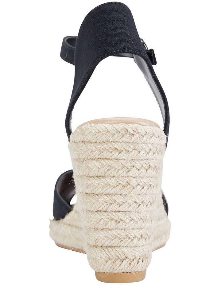 Aloha Black Linen Sandals image 6